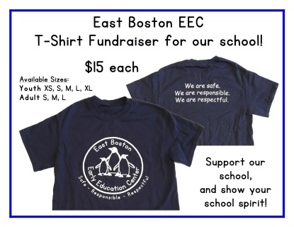 EEC Shirt Fundraiser Flyer 2017