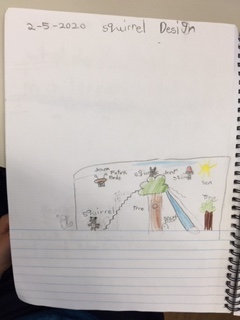 Gr 1 Squirrel Designs and fiction literature 4