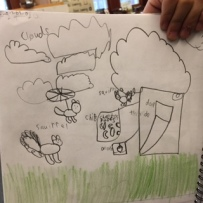 Grade 1 Squirrel Study and Engineering Designs 3