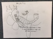 Preschool and Kindergarten Science reading, Treehouse sketches and building 6